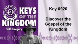 Keys of the Kingdom Podcast 0920