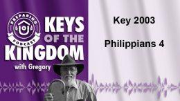 Keys of the Kingdom Podcast 2003